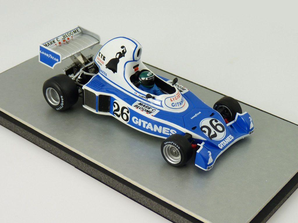 1976 - Jacques Laffite Ligier JS5 Teapot - Spark