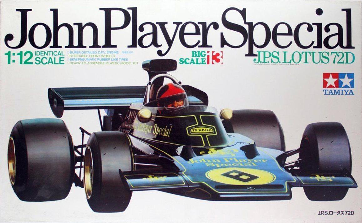 Tamiya JPS Lotus 72D