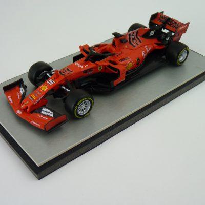 2019 - Sebastian Vettel Ferrari SF90 - Bburago