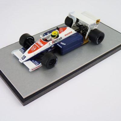 1984 - Aytron Senna Toleman TG184 - Eaglemoss