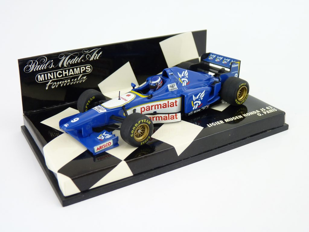 Minichamps Ligier JS43 - Panis Diecast Model Collection