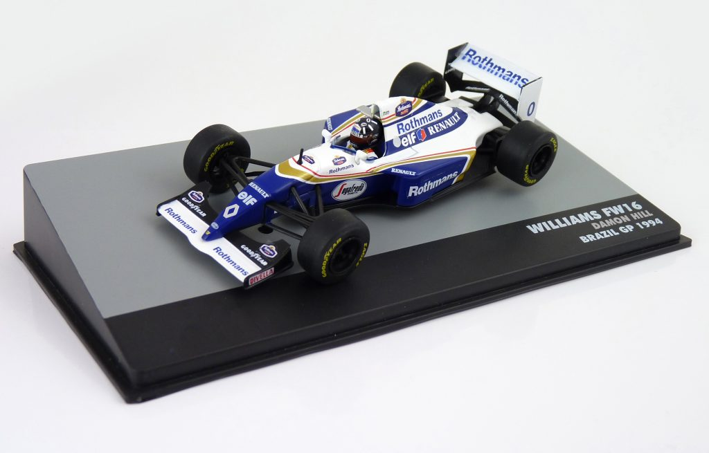 Damon Hill No: 0