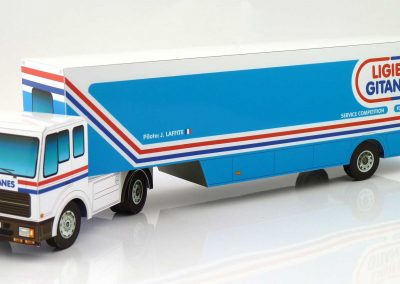 Ligier Gitanes 1978 F1 Team Transporter Paper Model