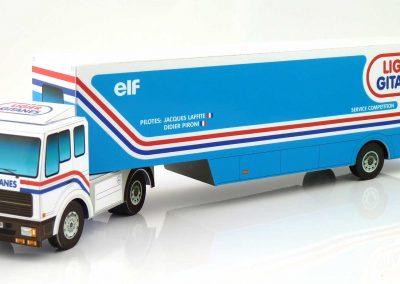 Ligier Gitanes 1980 F1 Team Transporter Paper Model