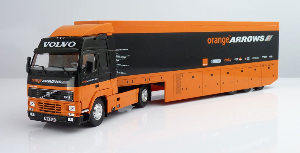 F1 Car Collection Arrows Transporter Truck