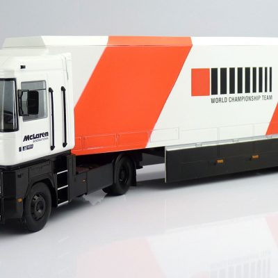 F1 Car Collection McLaren Transporter Truck