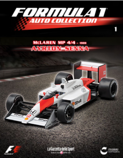 Formula 1 Auto Collection - Issue 001